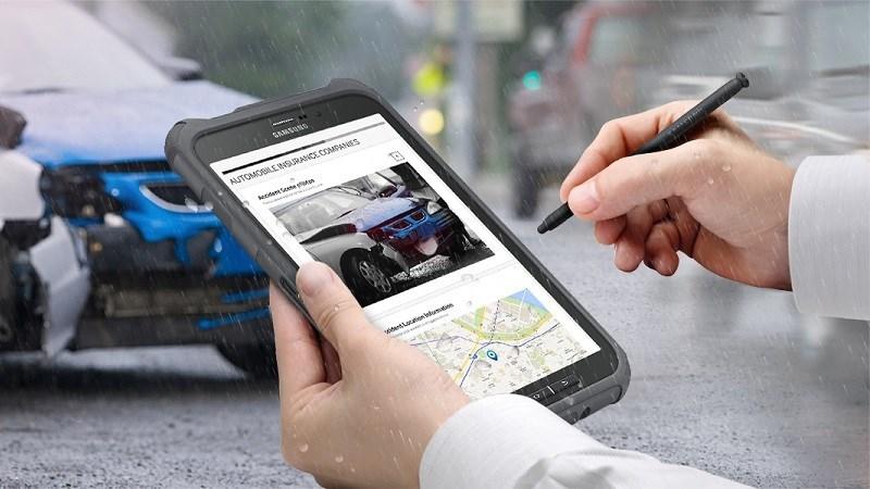 Galaxy Tab Active 2 ra mắt: Tiêu chuẩn quân đội, bút S-Pen sử dụng được dưới nước