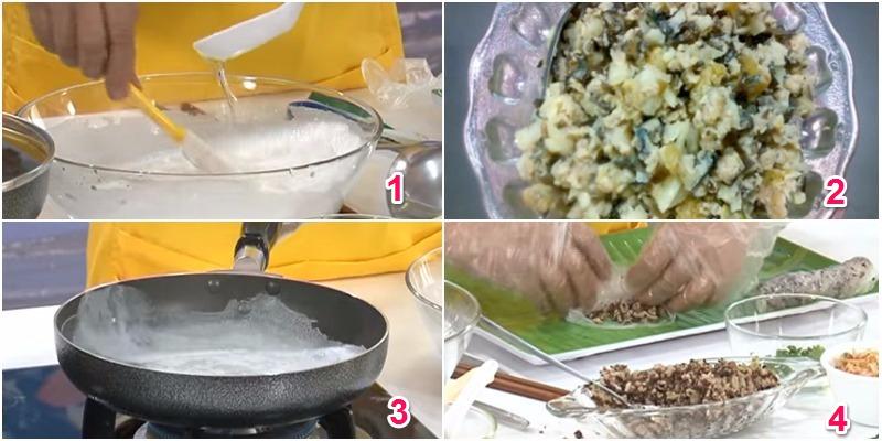 Kết quả hình ảnh cho cách làm bánh cuốn bằng chảo chống dính