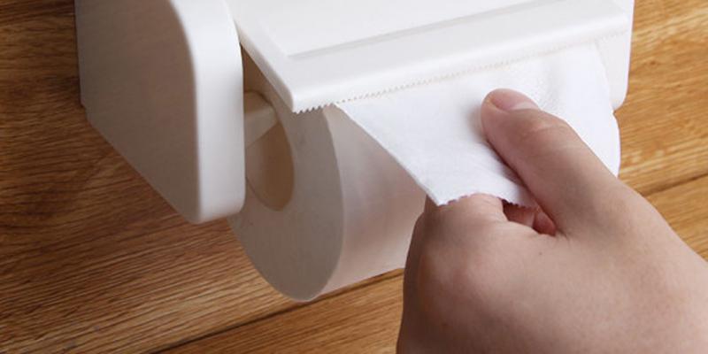 Dễ nhiễm trùng do các hóa chất thông qua thao tác sử dụng giấy sau khi đi vệ sinh