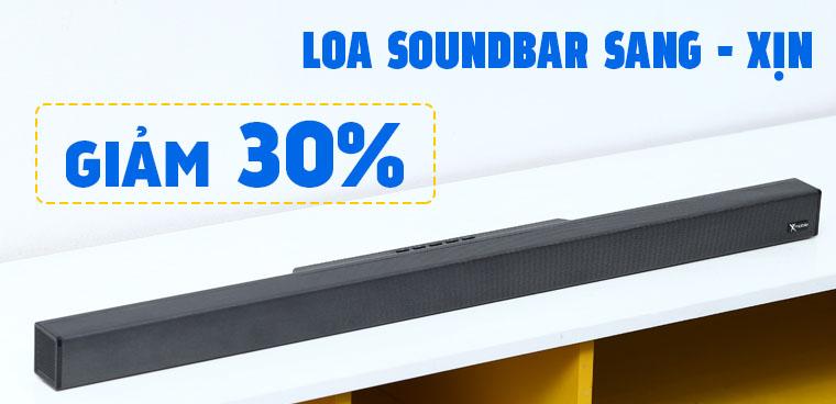Mua loa Soundbar - Giảm ngay 30%