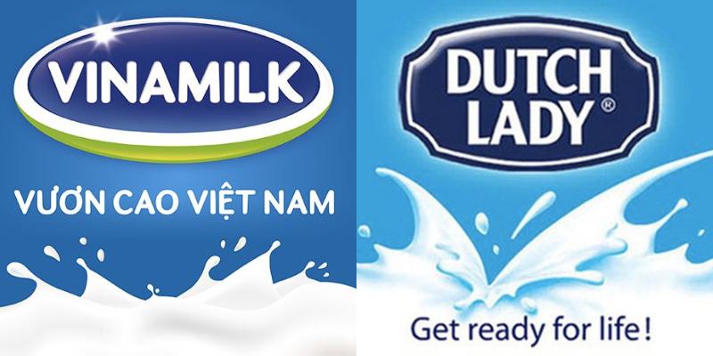 sữa tươi của Vinamilk - Cô Gái Hà Lan (Dutch Lady)