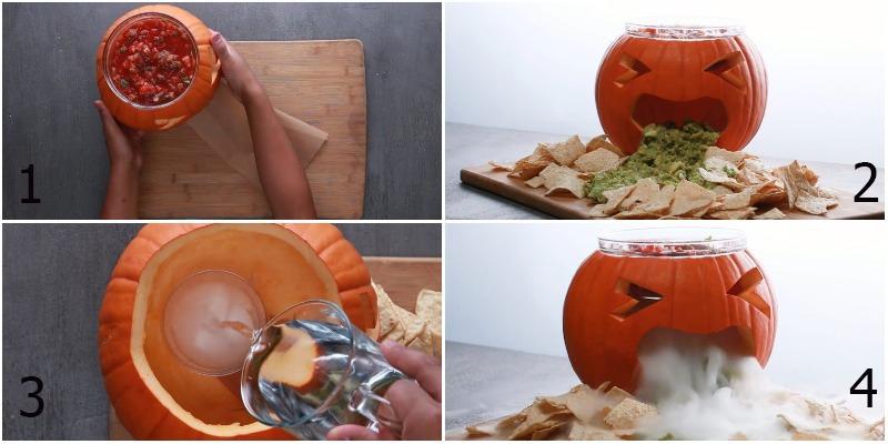 Cách làm bí ngô Halloween