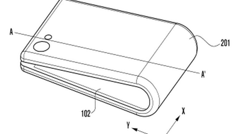Bằng sáng chế smartphone màn hình gập của Samsung tiếp tục xuất hiện