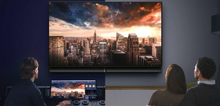 Tivi OLED Panasonic được tin tưởng có thể tái hiện màu sắc theo đúng ý đồ
