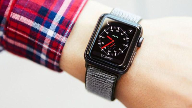 Kết quả hình ảnh cho apple watch series 3 42mm thep thegioididong