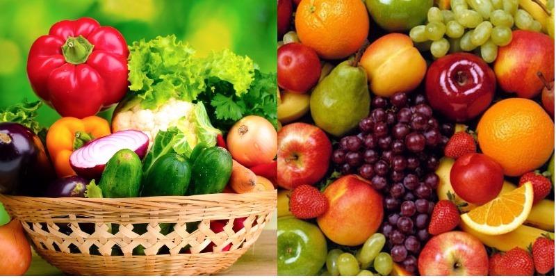 Ăn trái cây thay rau có được không?