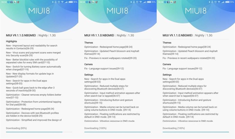 MIUI 9 trên Xiaomi Mi 5s Plus