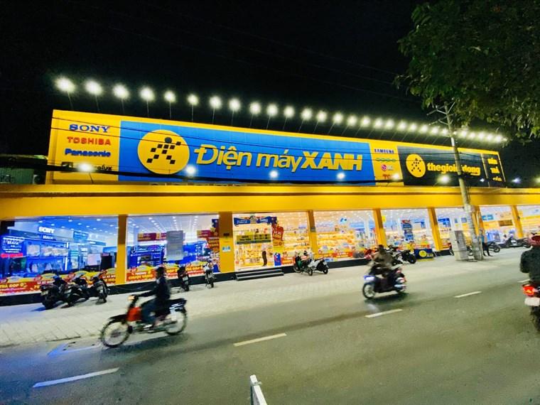 Siêu thị điện máy xanh tại 328 Tân Kỳ Tân Quý, P. Sơn Kỳ, Q. Tân Phú, TP. Hồ Chí Minh