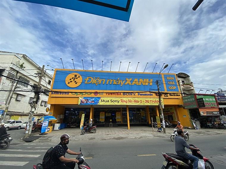 Siêu thị điện máy xanh tại Số 223-225 Phan Huy Ích, P.14, Gò Vấp, TP.HCM (Gần ngã tư Nguyễn Tư Giản)