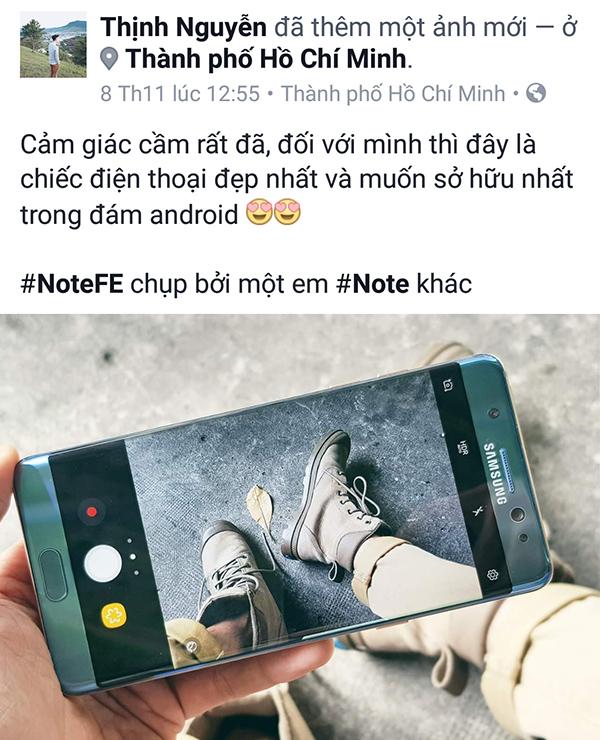 Người dùng nói gì về sự trở lại của Galaxy Note FE? - ảnh 5