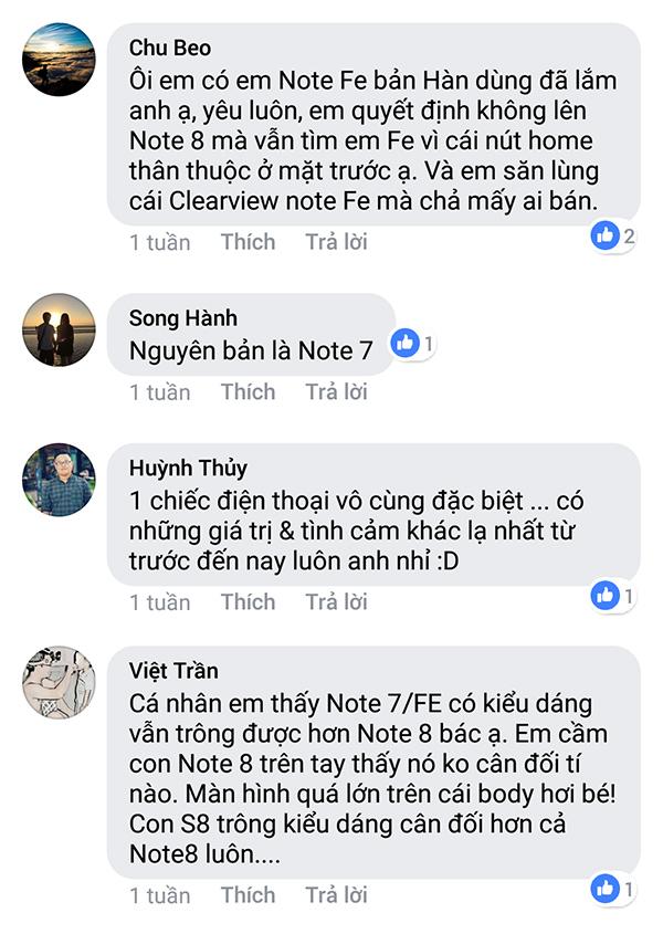 Người dùng nói gì về sự trở lại của Galaxy Note FE? - ảnh 4
