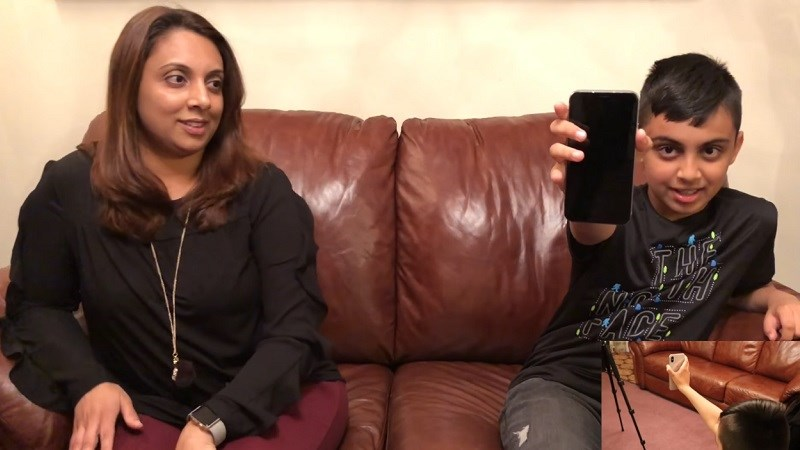 Con trai 10 tuổi mở khóa được Face ID trên iPhone X của mẹ - ảnh 1