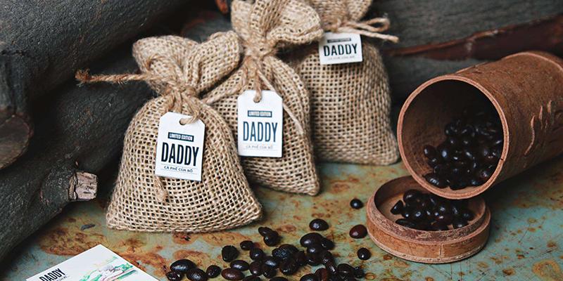 Hạt cà phê tạo hường thơm