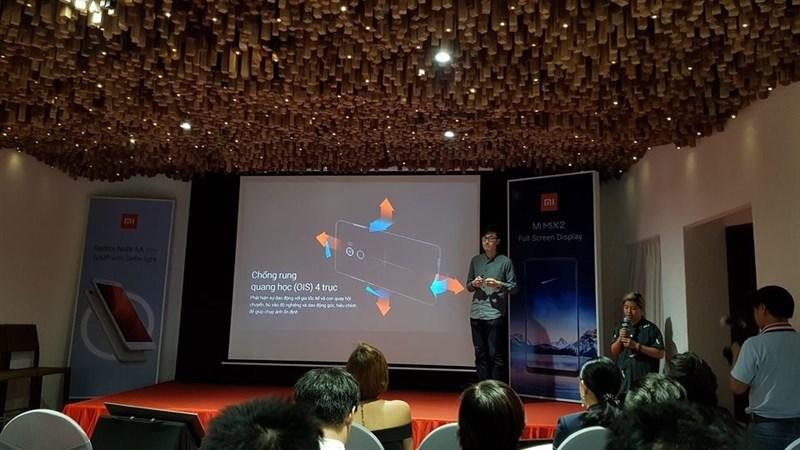 Xiaomi chính thức ra mắt Mi MIX 2 và Redmi Note 5A Prime tại Việt Nam