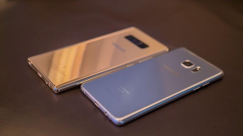 Nên chọn Galaxy Note FE, Note 5 hay Note 8?