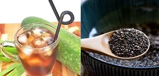 Cách làm trà bí đao hạt chia giải nhiệt tại nhà