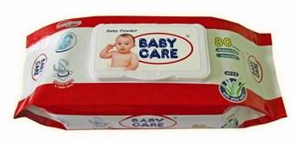 Phân biệt khăn ướt Baby Care thật và giả