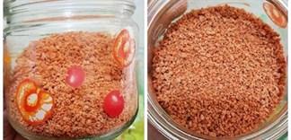 Cách làm hạt nêm từ tôm tại nhà
