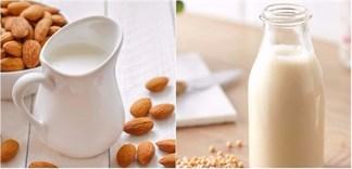 Sữa hạnh nhân và sữa đậu nành, cái nào tốt hơn cho bạn?
