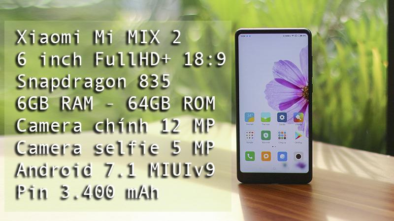Trên tay Xiaomi Mi MIX 2