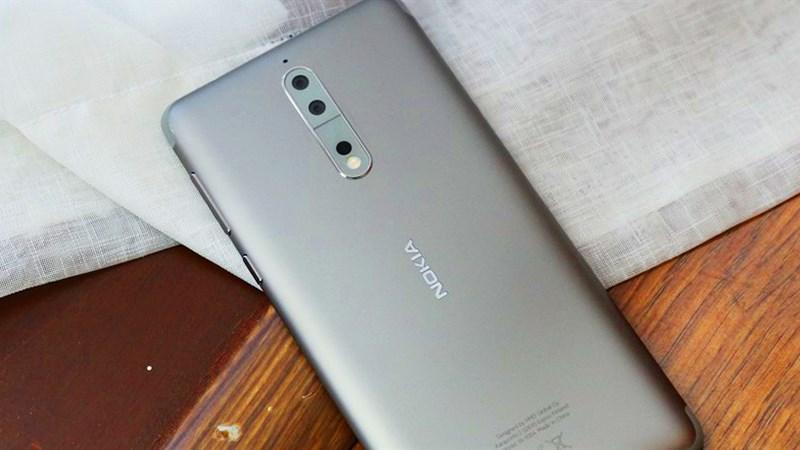 Nokia 8 chính thức nhận được bản cập nhật Android 8.0 Oreo