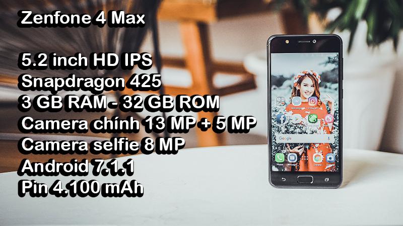 TRên tay Zenfone 4 Max