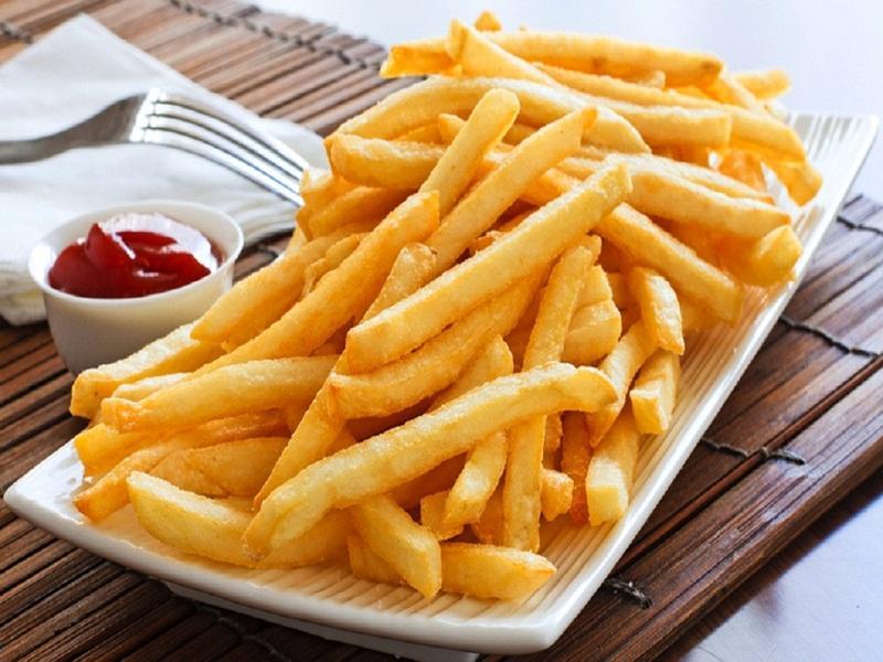 Image result for khoai tây chiên