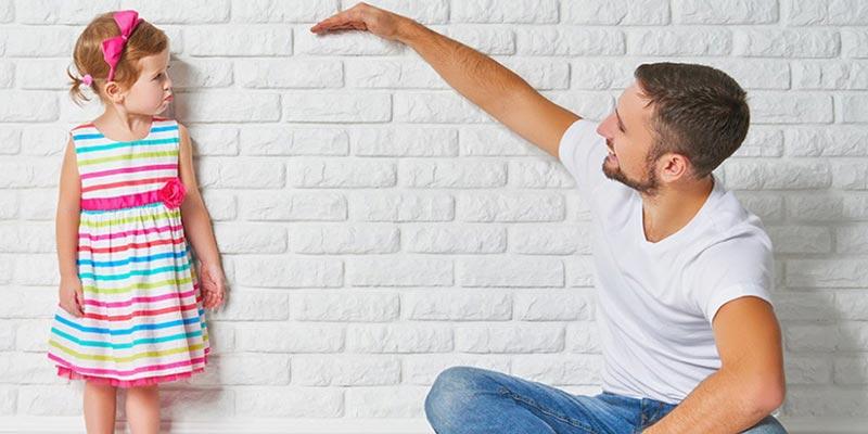 Công thức dành cho phụ huynh tính chiều cao của bé dựa trên yếu tố di truyền