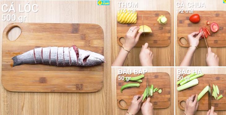 Cách nấu canh chua cá lóc chuẩn nhất