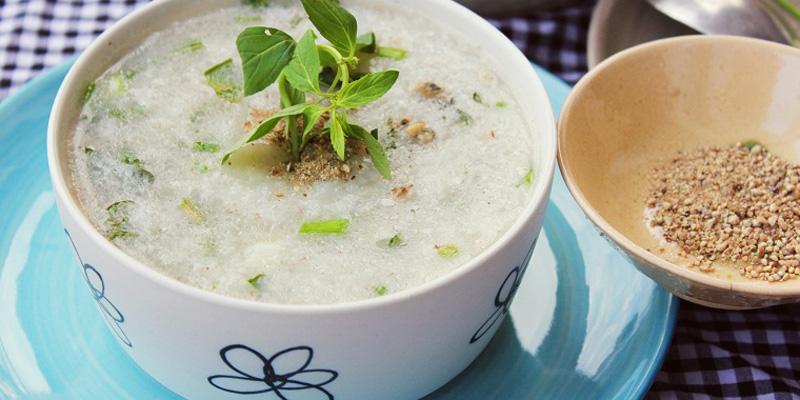 Thành phần chủ yếu có trong mỗi gói cháo đa phần là gia vị như bột nêm, bột ngọt