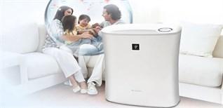 7 công dụng tuyệt vời của máy lọc không khí Sharp với sức khỏe