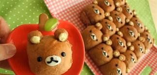 Cách làm bánh mì gấu Rilakkuma
