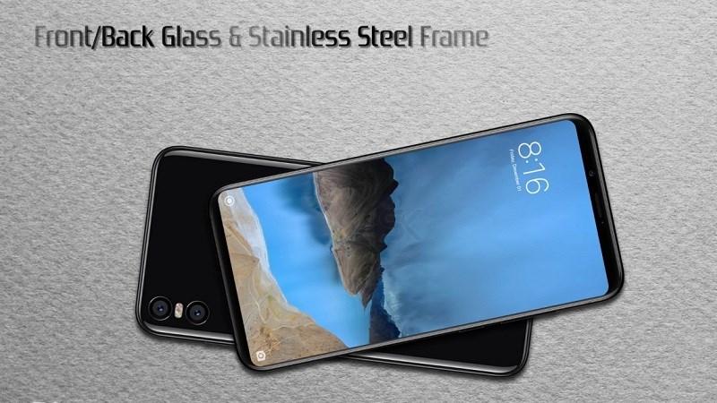 Những hình ảnh render rõ nét và mới nhất về Xiaomi Mi 7