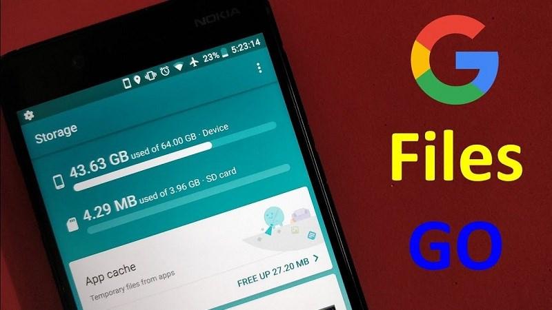 Trình quản lý tập tin đa năng Files Go của Google lên kệ Play Store