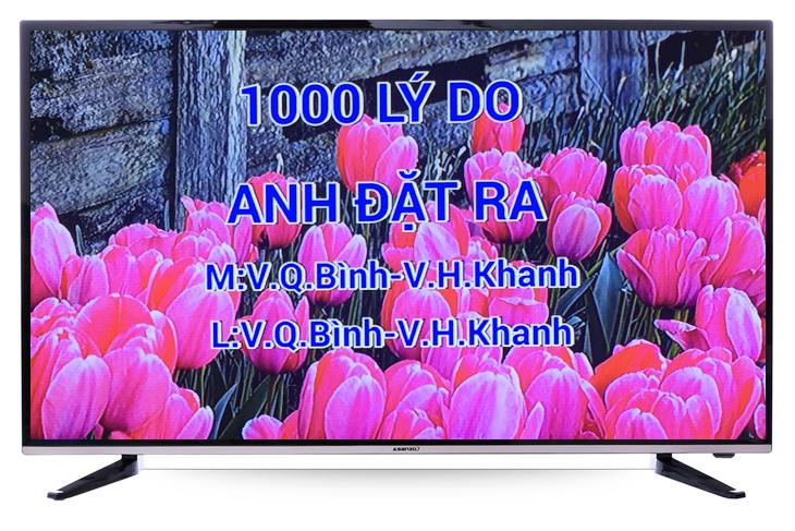 Hướng dẫn sử dụng chức năng karaoke trên tivi Asanzo 40AS330