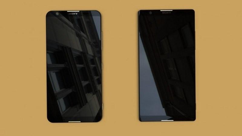 Sony Xperia 2018 có thể sỡ hữu màn hình viền mỏng như thế này - ảnh 1