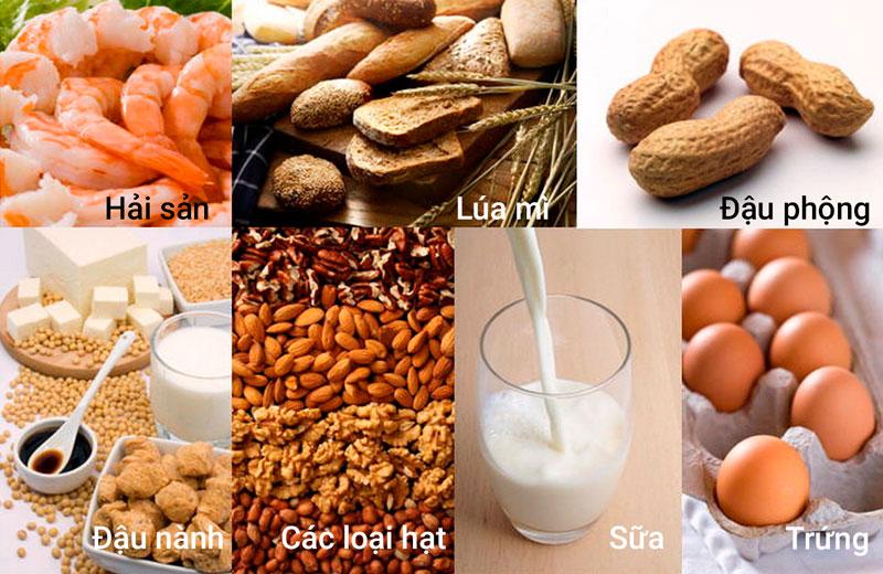 Nguyên nhân của dị ứng thực phẩm