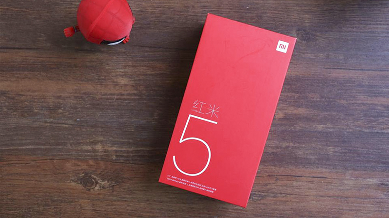 Trên tay Xiaomi Redmi 5