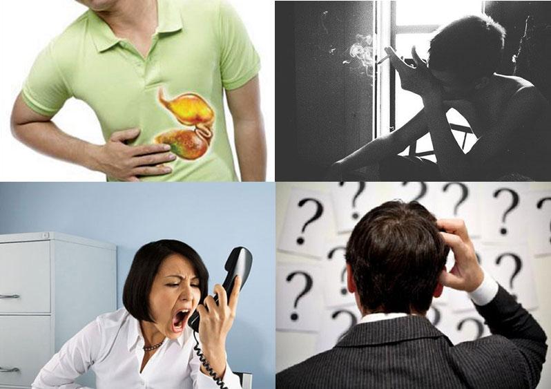Triệu chứng của stress
