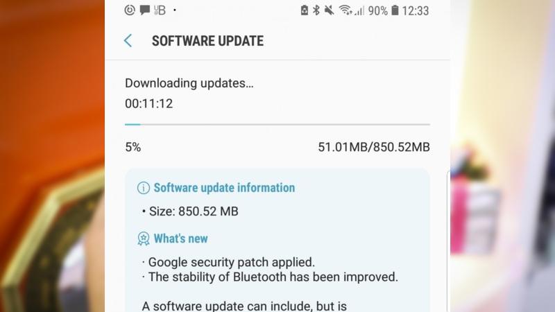 Samsung phát hành Android Oreo beta 4 cho Galaxy S8, S8 Plus