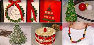 Cách sử dụng nui để làm đồ trang trí Noel