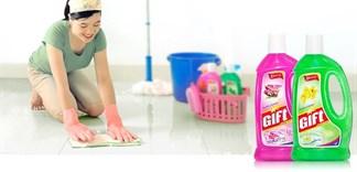 Có nên sử dụng nước lau sàn nhà?