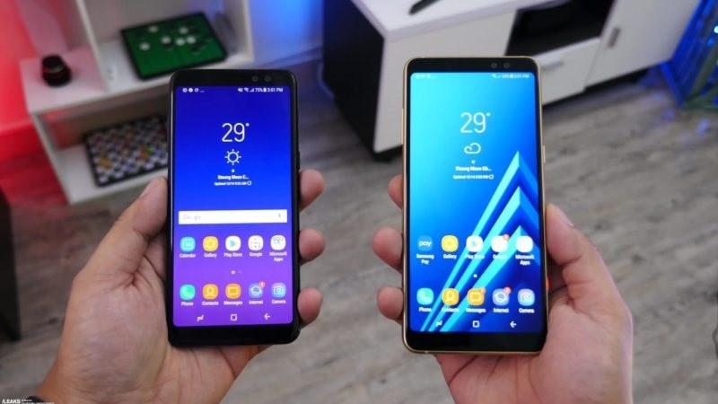 Galaxy A8 (2018) & A8 Plus (2018) lộ thông số cấu hình cụ thể