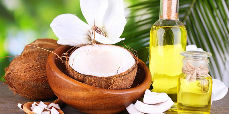 dùng dầu oliu, dầu dừa 2 - 3 lần cho mỗi ngày