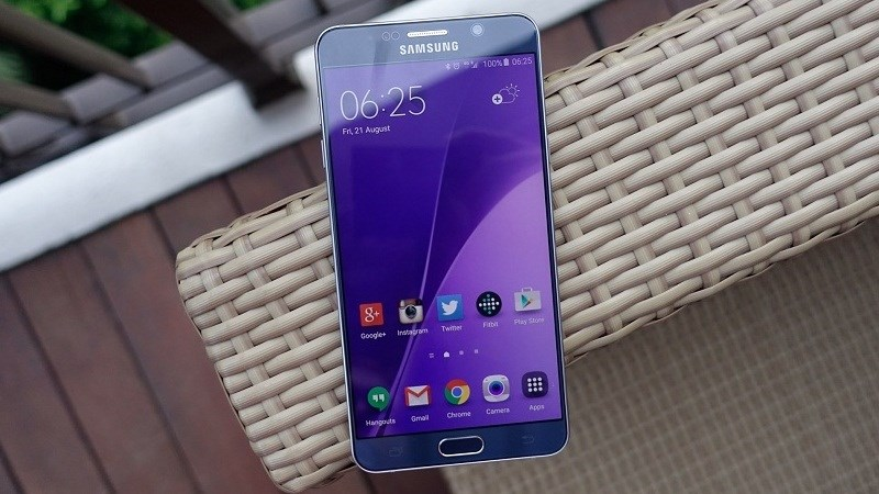 Galaxy Note 5 nhận được bản vá lỗ hổng bảo mật Android tháng 12