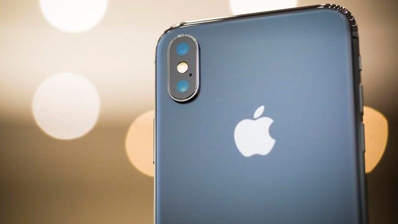 Cụm camera kép của iPhone X