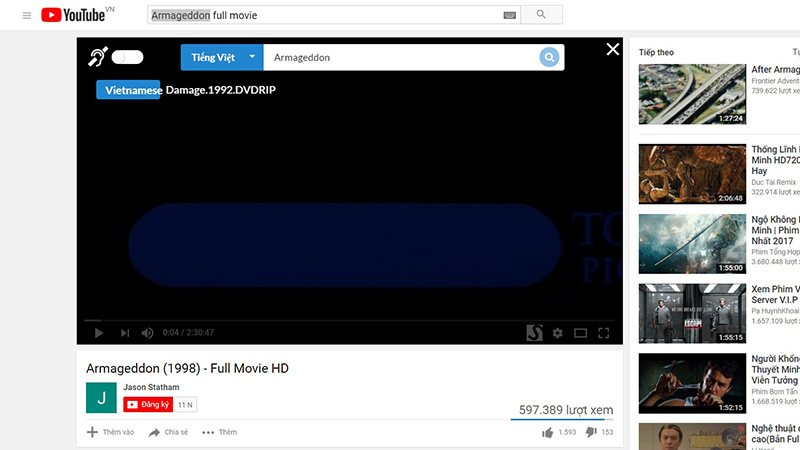 Mẹo bật phụ Đề trên YouTube, NetFlix cho video không hỗ trợ