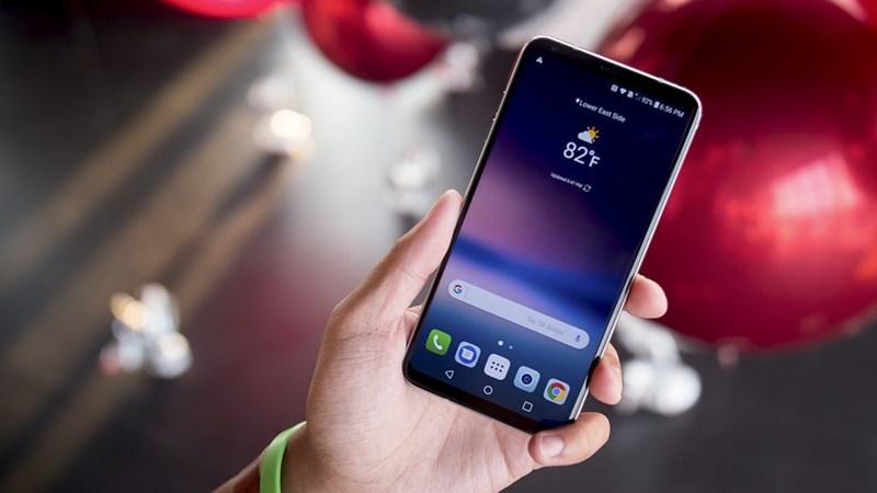 LG V30 và V30 Plus chính thức nhận được bản cập nhật Android 8.0 Oreo