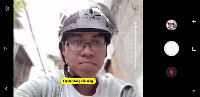 selfie xóa phông