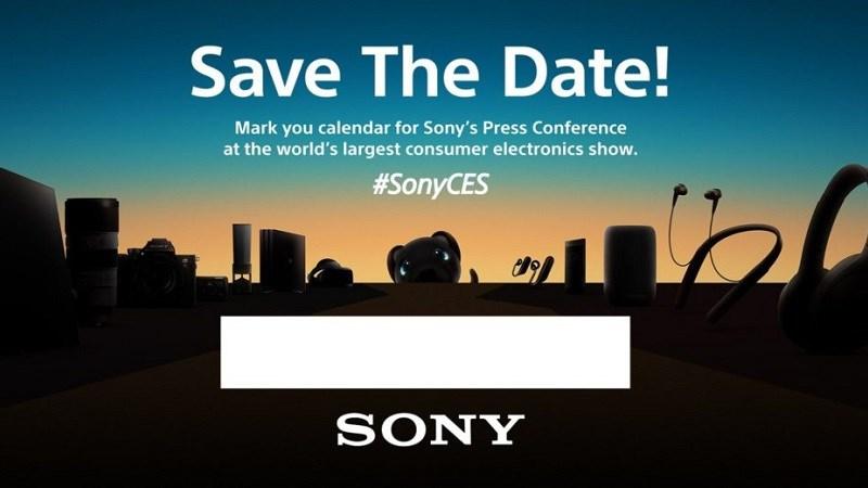 Sony gửi lời mời báo chí ra mắt smartphone mới tại CES 2018